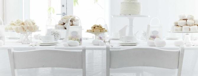 total white tea party