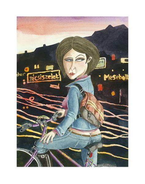 Így látja Budapestet egy kenyai brit festőművész - 22. kép