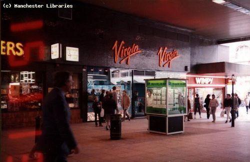 Virgin Records Store, Market Street, 1984