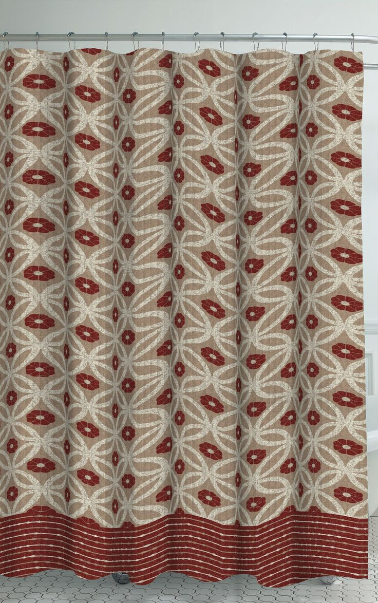 Oxford Fabric Weave Textured Shower Curtain SetBest 25  Shower curtain sets ideas on Pinterest   Bathroom shower  . Maroon Shower Curtain Set. Home Design Ideas
