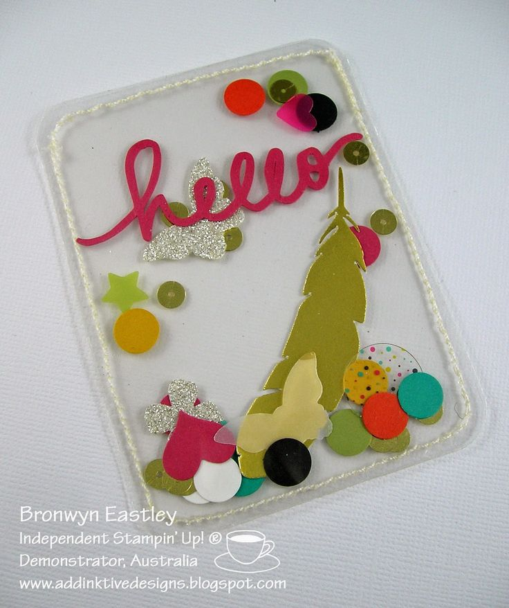A Confetti Pocket Card - Project Life