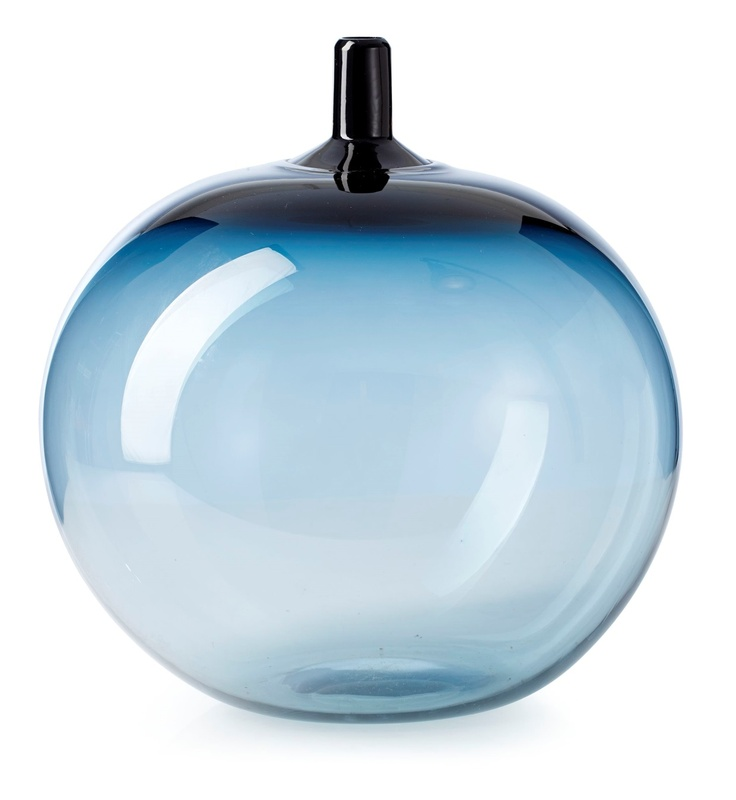 """** Ingeborg Lundin, (Swedish, 1921-1992), Orrefors, """"Melon"""" Glass Vase."""