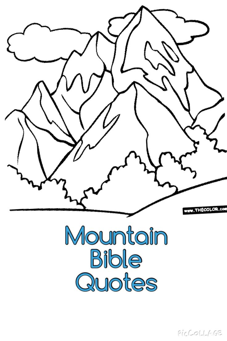1000 images about toddler ideas everest vbs on pinterest for Coloring pages mountains
