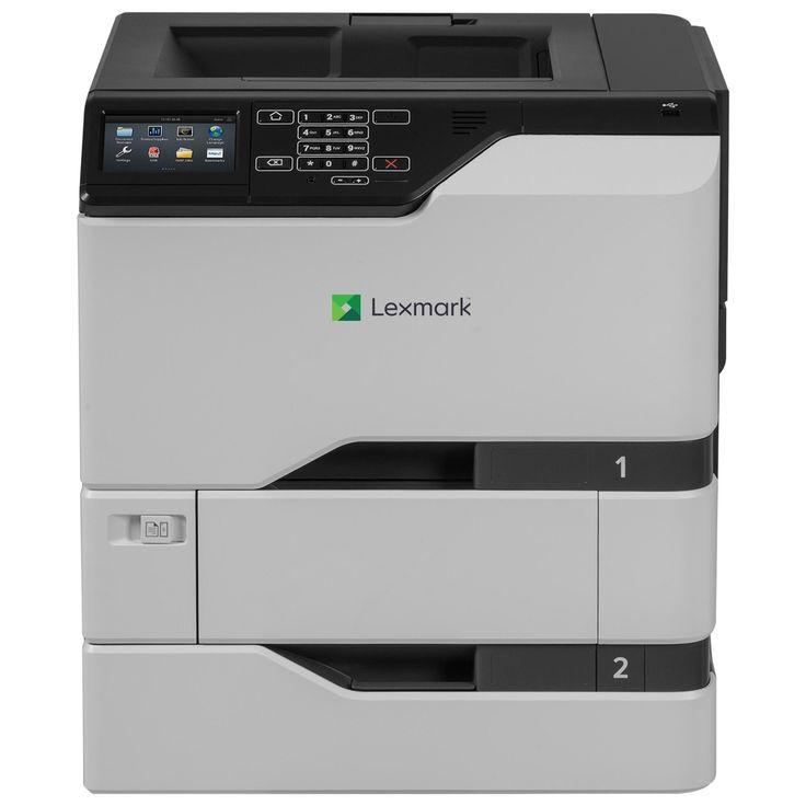 Lexmark CS720dte Laser Printer - Color - 2400 x 600 dpi Print - Plain #40C9101