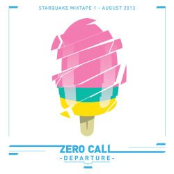 art direction and illustrations for the Starquake records mixtape series, 2013
