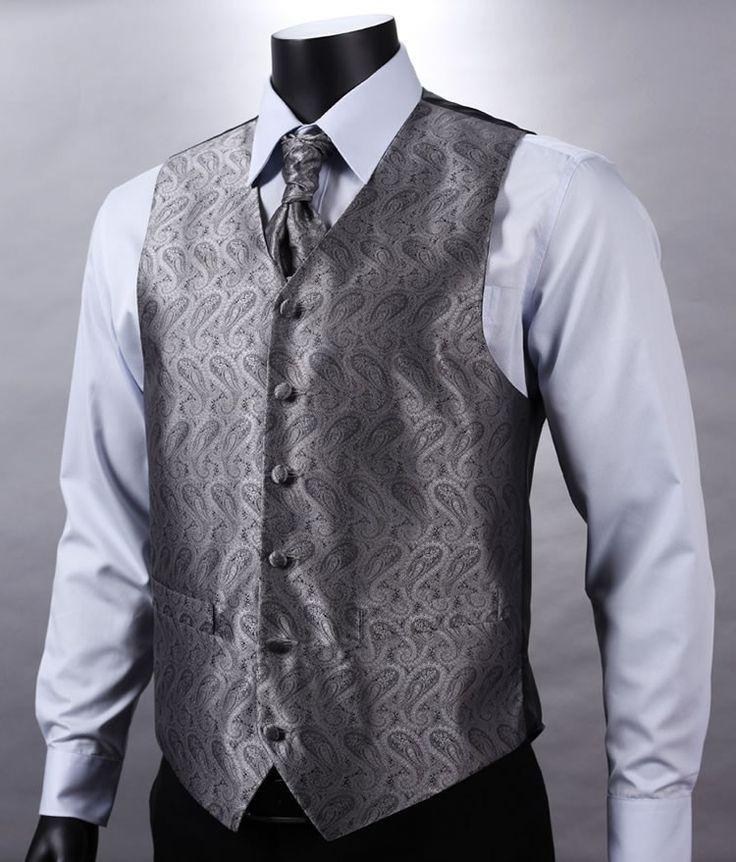 Dark Silver Vest Set
