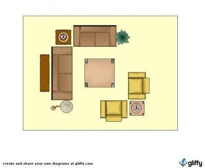 Furniture Placement Rectangular Room