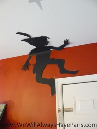 Peter Pan's shadow