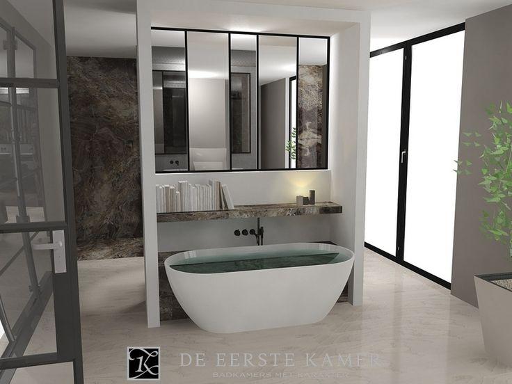 Als het badkamerontwerp klopt, zal de badkamer na de montage een plaatje zijn! Meer inspirerende badkamerontwerpen vindt u op www.eerstekamerbadkamers.nl