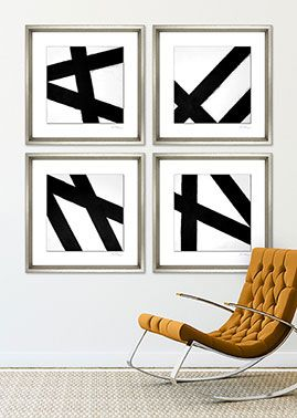 Charlotte Morgan - Black and White Abstracts