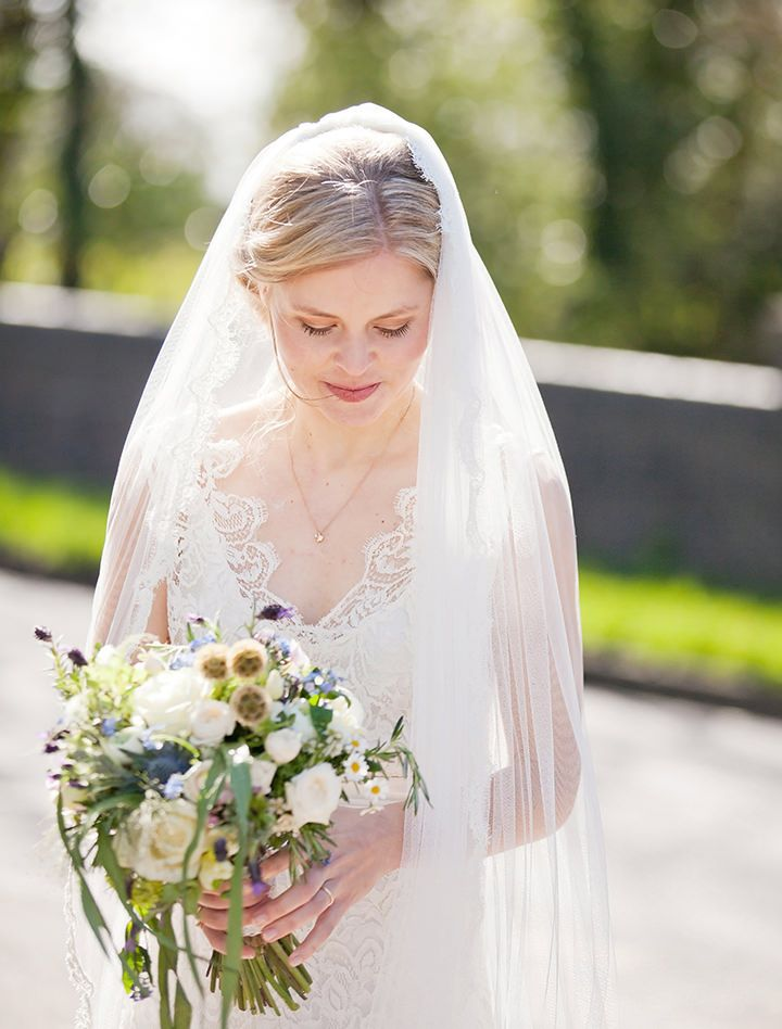 Katrine and Steven's Rustic Spring Wedding. By Jo Hastings.