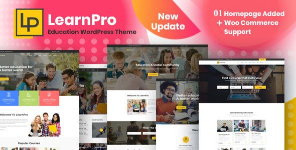 Learnpro Education Wordpress Theme Columns4 Academic Books