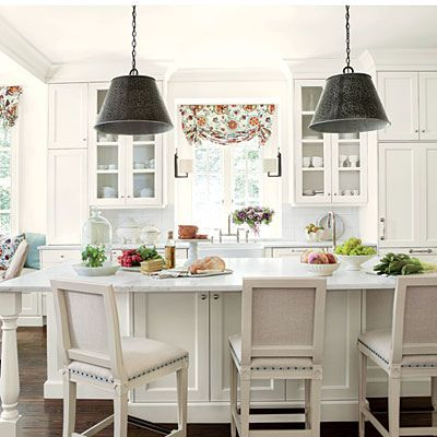 southern living kitchen ideas four beautiful homes the peachtree garden club 22076