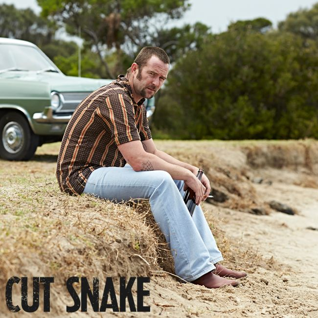 """Australian director Tony Ayres delivers a crime drama with a difference... gripping and unpredictable."" - FilmInk. #CutSnake"