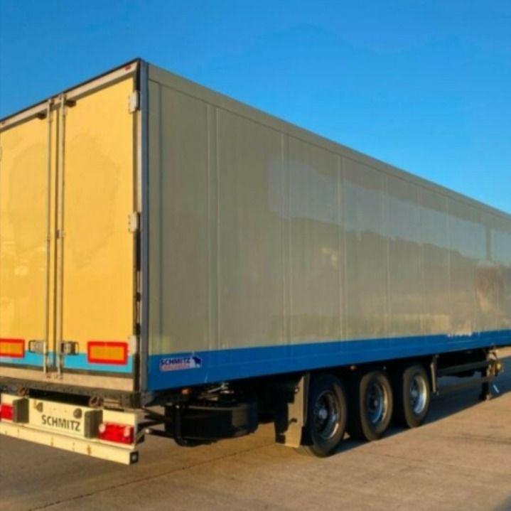 براد شميتز ألماني بأبعاد ممتازة للبيع بالسعودية رقم العرض للسؤال عنه هو 1115092 براد شيمتز مع مبرد ثيرموكنج Slx 200 موديل 2009 مواصفات قياسية لل Trucks Vehicles