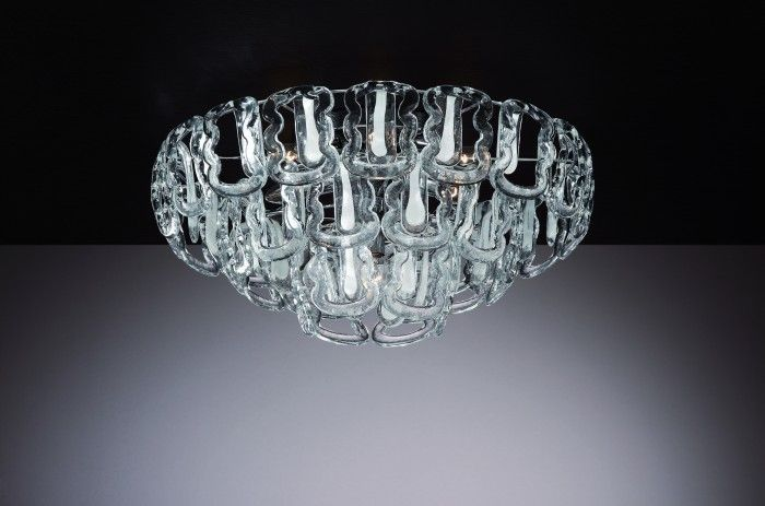 Murano Ceiling Lamps - Series Ganci