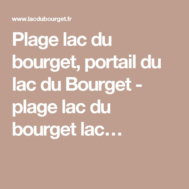 19 Best Images About Camping On Pinterest: 19 Best CAMPING Lac Aiguebelette Images On Pinterest