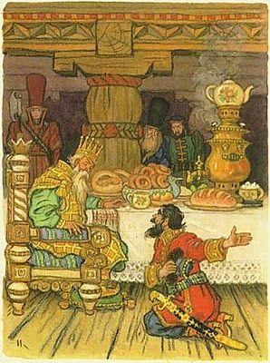 "Nikolay Kochergin.  P. Yershov ""The Little Hampbacked horse"""