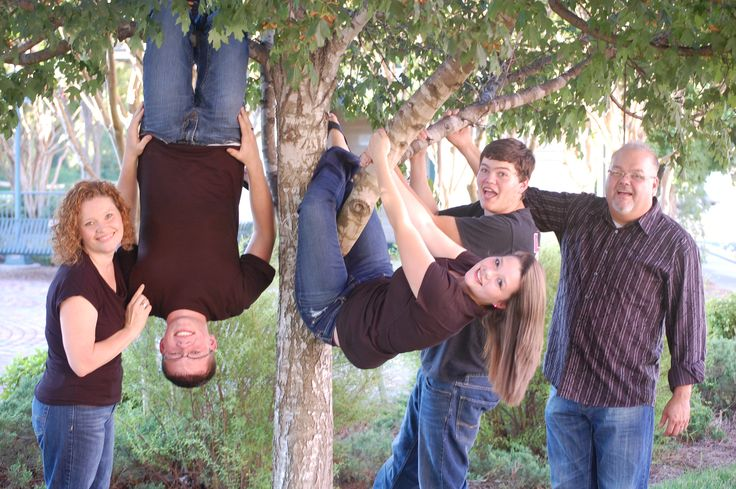 Family Photo idea with Teenagers!