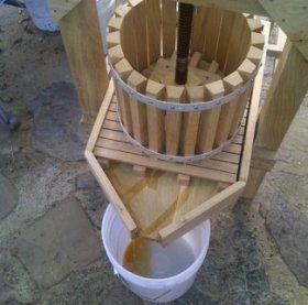 DIY Apple Cider Press