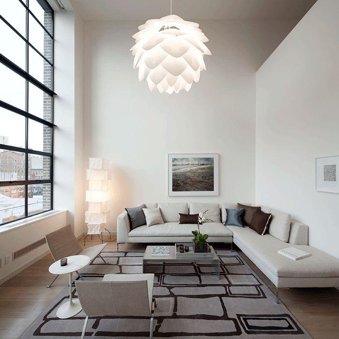 Design Belysning AS - VITA Silvia Taklampe Hvit