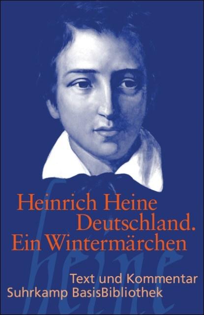 """Heinrich #Heine  """"Deutschland. Ein Wintermärchen"""" #literatur"""
