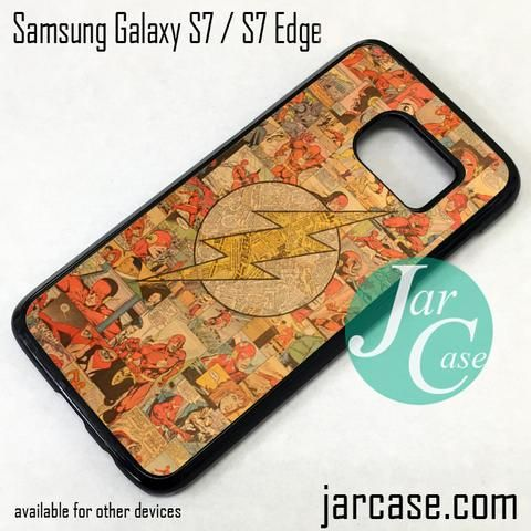 The Flash Collage Phone Case for Samsung Galaxy S7 & S7 Edge
