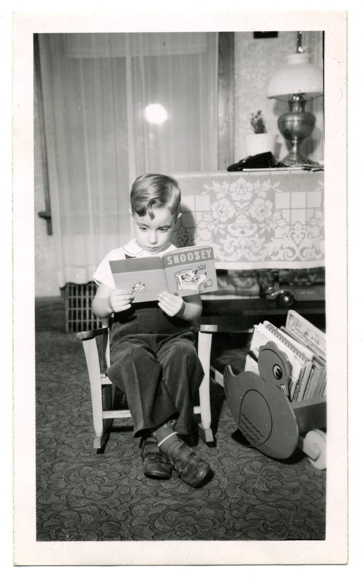 Found Photograph: Reading