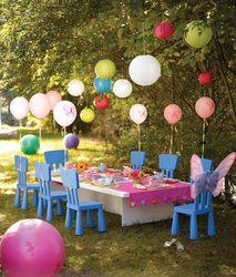 Tea party picnic.