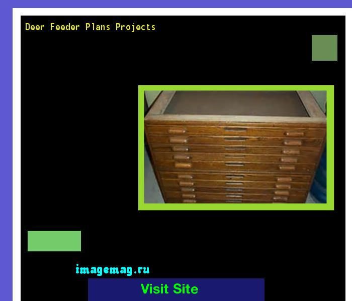 Deer Feeder Plans Projects 100414 - The Best Image Search