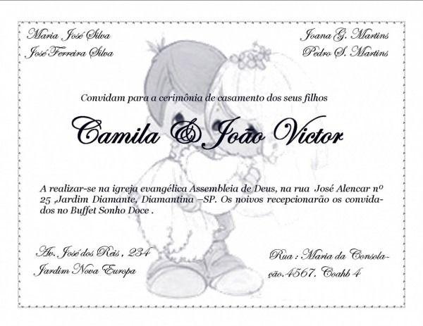 Tend Ncia Frases B Blicas Para Convite De Casamento