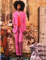 Julia Sarr-Jamois: Women S Fashion, Hair Fashion, Menswear Suits, Julia Sarr Jamois, Fashion Style, Pink Suit, Sarr Jamois 8 Jpg, Natural Hair, 1 Style