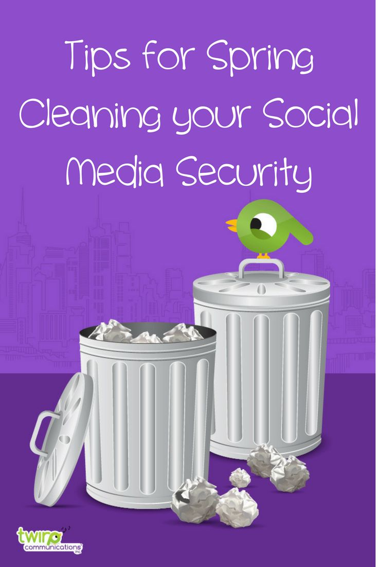 When was the last time you cleaned out your social media profiles? It's something you should consider doing if you've been on a network for a few years, and probably should make a reminder to do on at least an annual basis. Spring cleaning your social media profiles can take care of various issues and maybe most importantly, can decrease your privacy and security risks. via @anitakirkbride