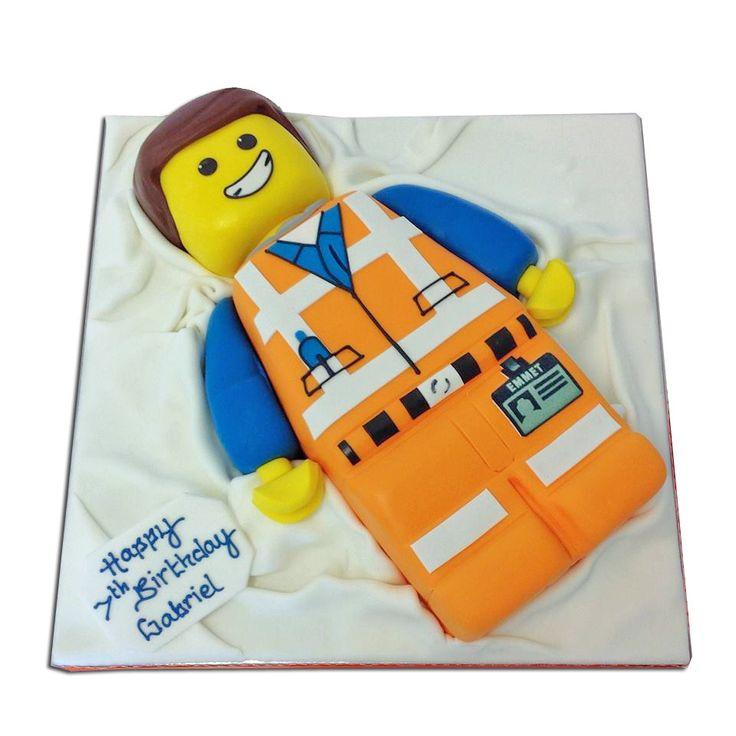 Emmet Lego Movie Cake delivered in London