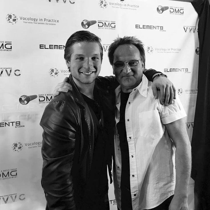 """I've known this vocal guru and talented musician for 10 years of my life now. He's taught me so much and I would NEVER be the musician and person that I am today if it weren't for him. Sending a big shout out to DMG and anyone involved with Darcy D. We're lucky to have him!!  Darcy Deutsch we will never be tired of your corny jokes. """"A guy walks into a bar....... Ouch"""" LOL!  Darcy Deutsch Darcy D Music Group Jada Klein Cambree Lovesy Ria Jade Viral In Nature  #Vancouver #Vancouversings…"""