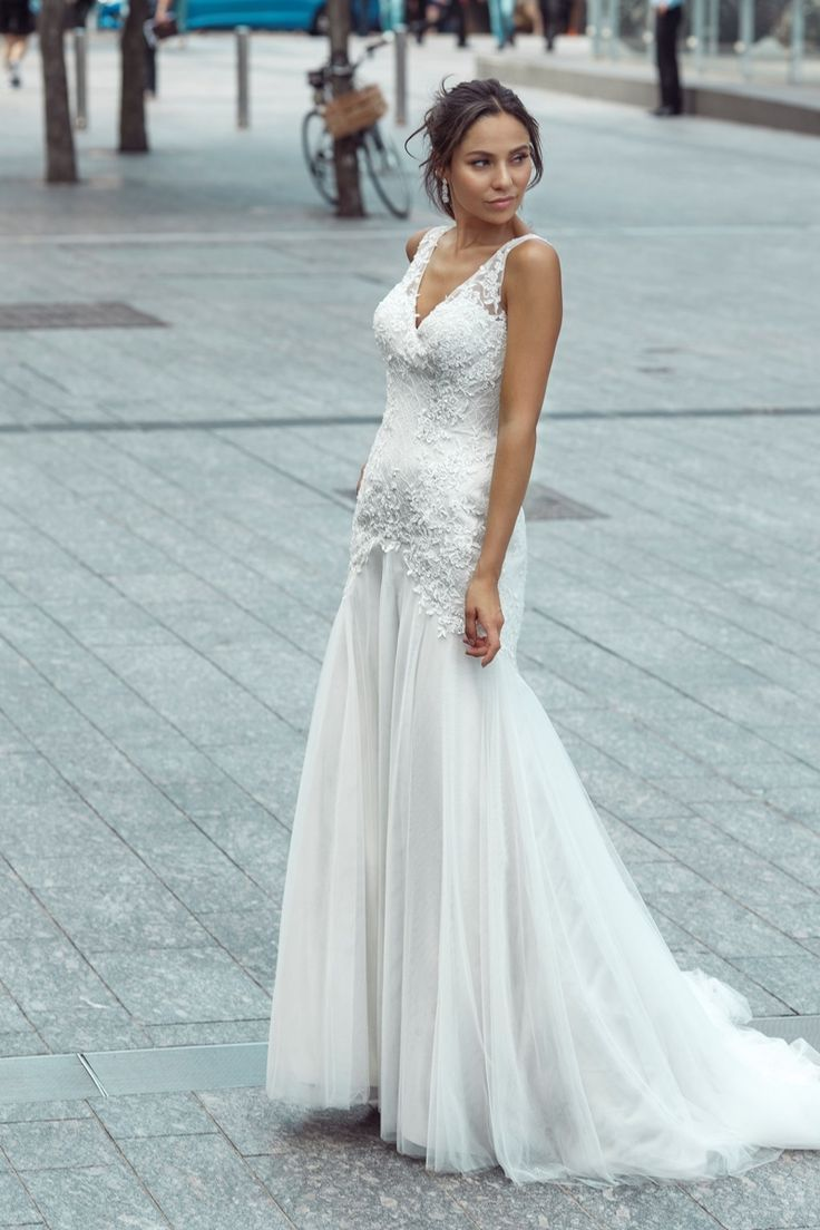 22 best Mia Solano Wedding Dresses images on Pinterest | Short ...