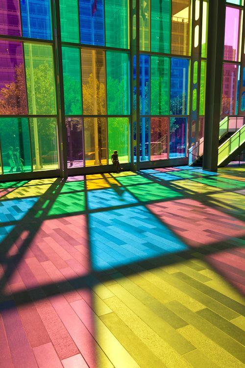 Fantastic light through glass windows, Lys, glas