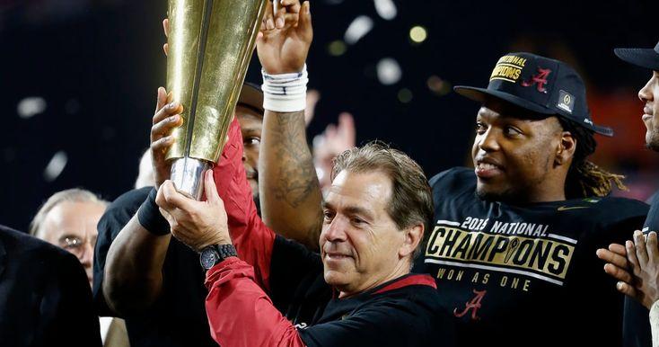 Decade of dominance: Why the national championship trophy should be named after Nick Saban #Alabama #RollTide #Bama #BuiltByBama #RTR #CrimsonTide #RammerJammer #NickSaban
