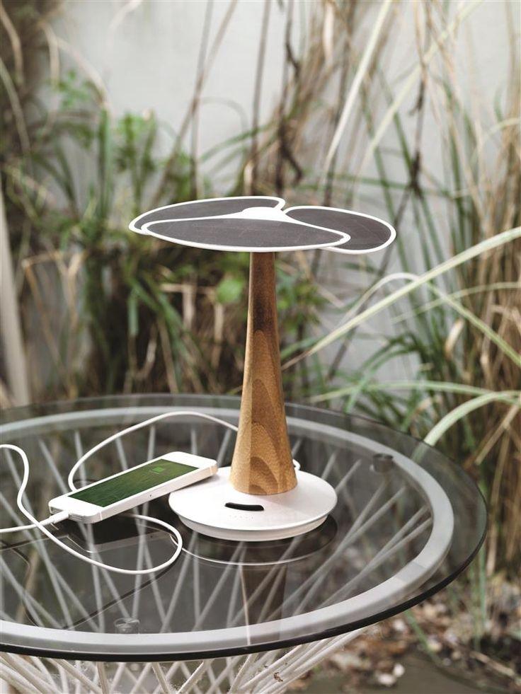 Ginkgo solar tree 4.000mAh, white | XD Design