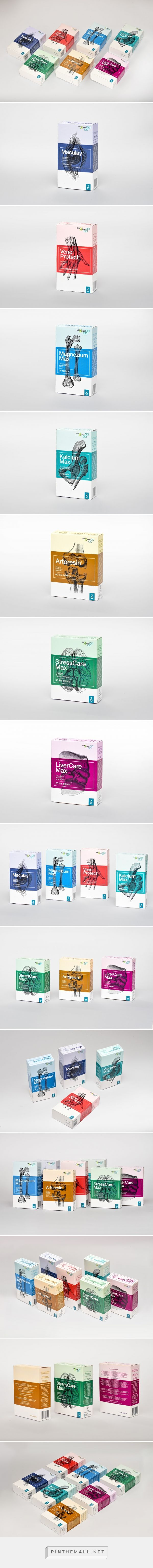 Zada Food Supplements / Medicine Packaging (Concept) - Packaging of the World - Creative Package Design Gallery - http://www.packagingoftheworld.com/2017/01/zada-food-supplements-medicine.html