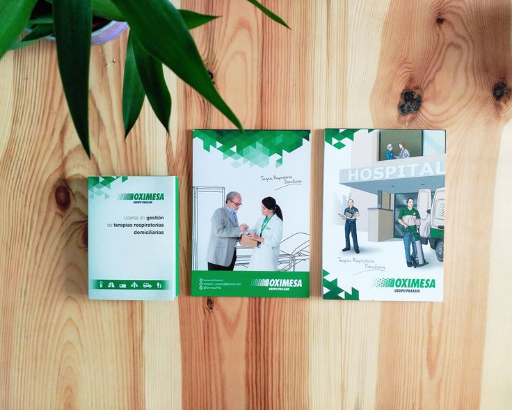 Cuadernos y caja para Oximesa