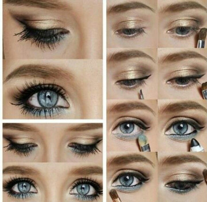 Makeup for blue eyes prom | Make-up | Pinterest ...