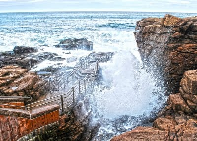 54 best acadia images on pinterest acadia maine national parks thunderhole acadia bar harbor me sciox Choice Image