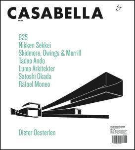 Casabella 825. Mayo 2013