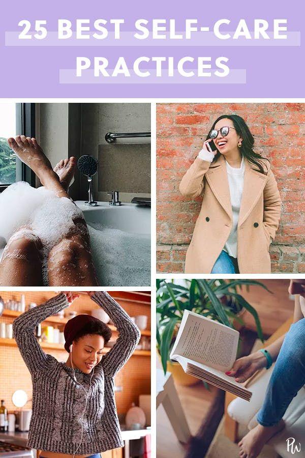 25 völlig freie Möglichkeiten, sich selbst zu pflegen   – self care