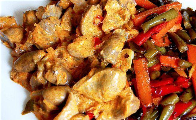 Чем полезны куриные потроха   Четыре вкуса