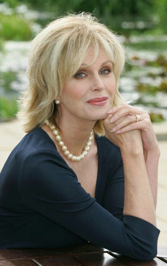 Joanna Lumley looks absolutely fabulous - and always makes me laugh - except when she does the voice for AOL - you've got company - creepy!!!!
