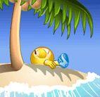 island emoticon
