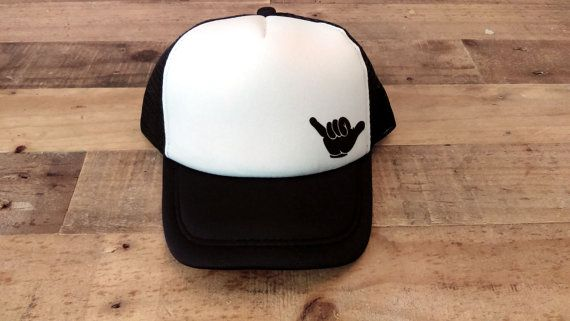 SHAKA Baby Snapback | Trucker Hats | Baby Snapback Hats | Toddler Trucker Hats | Baby Trucker Hats | Custom Trucker Hat | Kids Hat |