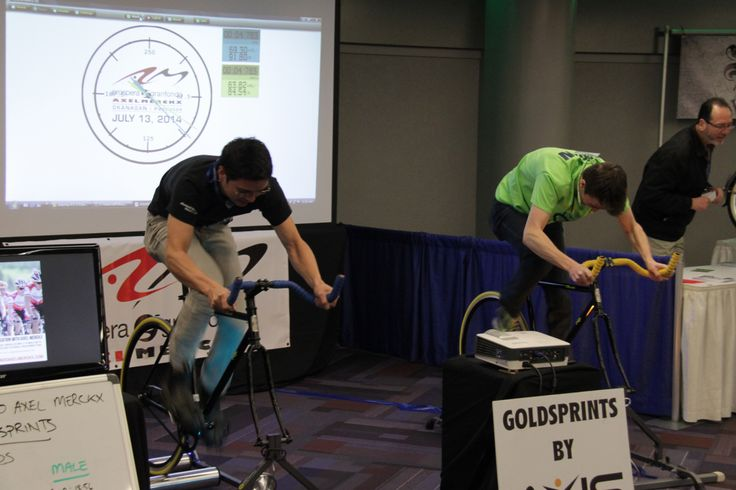 getting #cycle fit @Vancouver Bike Show